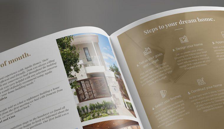 Diseña tu folleto